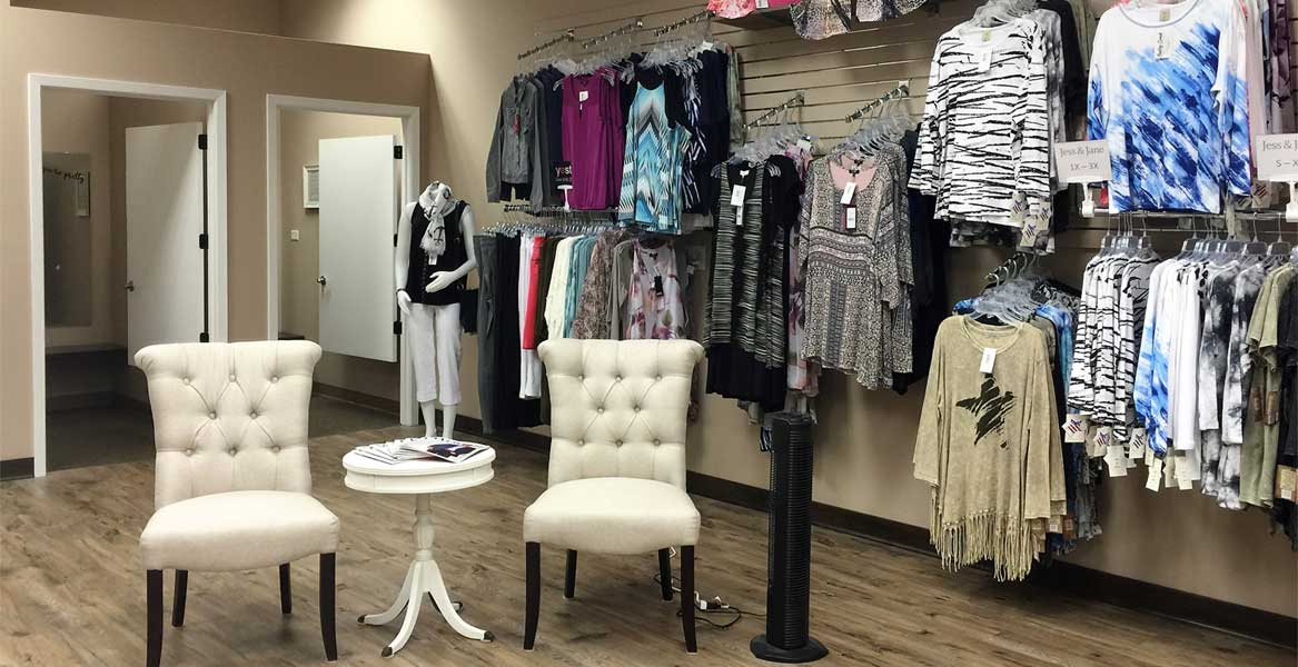 General interior image of Bailey Creek Boutique